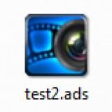 Icon der DiaShow Blue Net