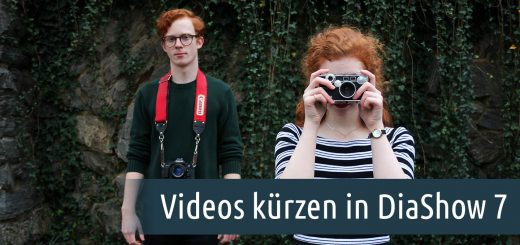 Videos kürzen in DiaShow 7