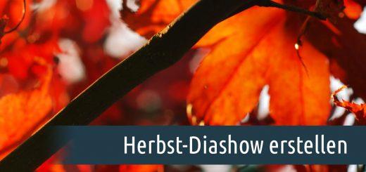 Herbst-Diashow erstellen