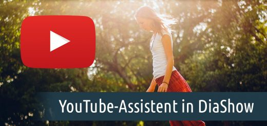 YouTube-Assistent in DiaShow