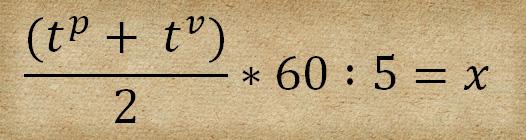 Wieviele Bilder: Formel zur Errechnung der Bildanzahl x