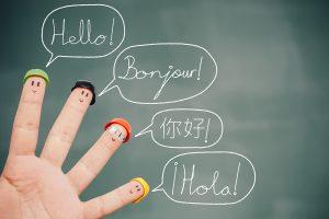 Sind Sie mehrsprachig?
