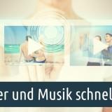 Bilder und Musik in DiaShow schnell ersetzen. Foto: Syda Productions