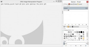 Benutzeroberfläche von GIMP