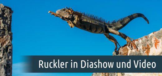 ruckler in diashow und video vermeiden