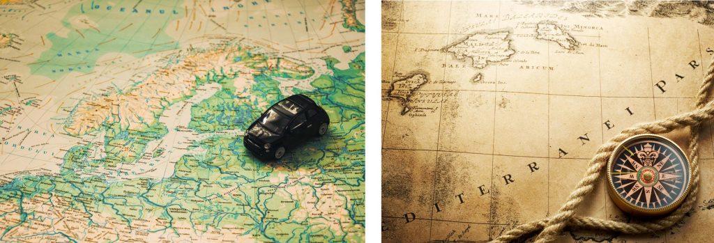 Fotos von Karten