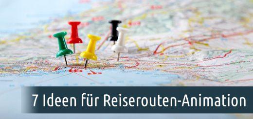 Reiserouten-Animation