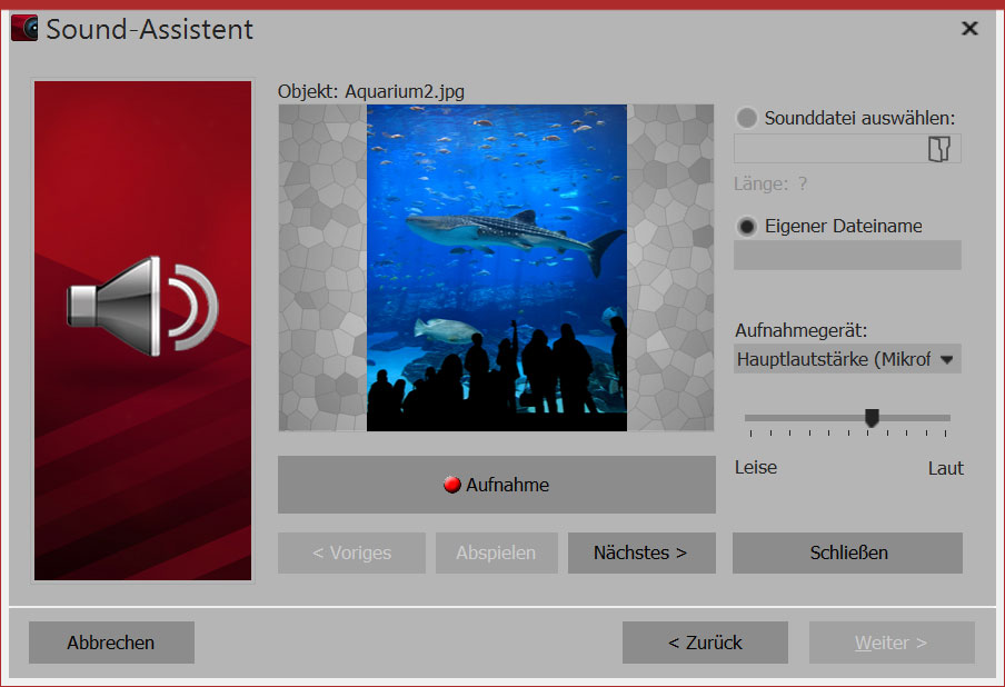sound-assistent aquasoft
