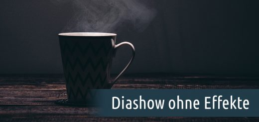 diashow ohne effekte aquasoft