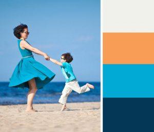 Ideen gegen eintönige Diashows: Farbpaletten