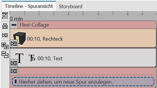 Aufbau für einfache Texttafel