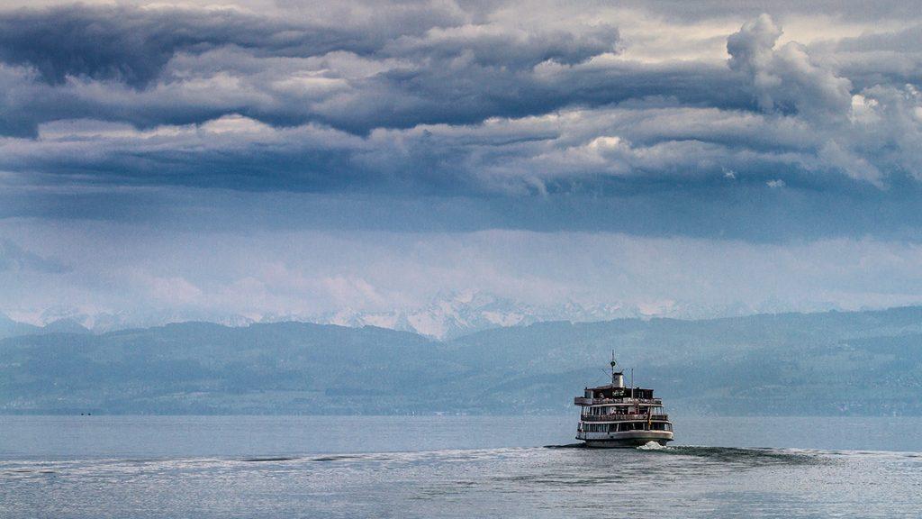Wohin mit dem Horizont? Eine Bilddrittelung sorgt für Spannung. Foto: Franz Lechner