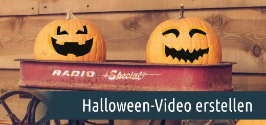 Halloween-Video erstellen