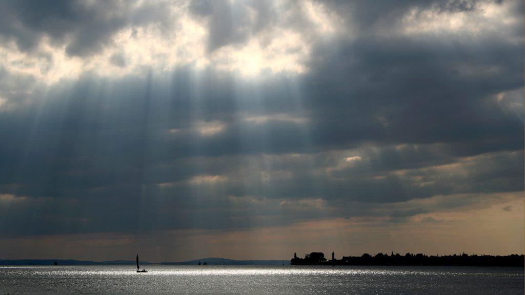 Der Himmel wird durch einen niedrigen Horizont betont. Foto: Franz Lechner