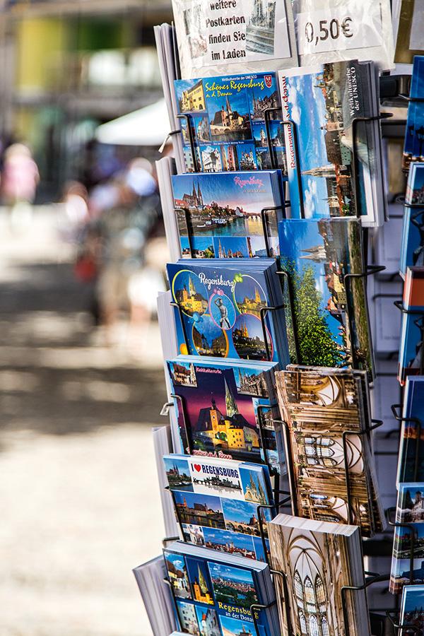 Tipps für Reisefotos: Postkarten zur Inspiration. Foto: Franz Lechner