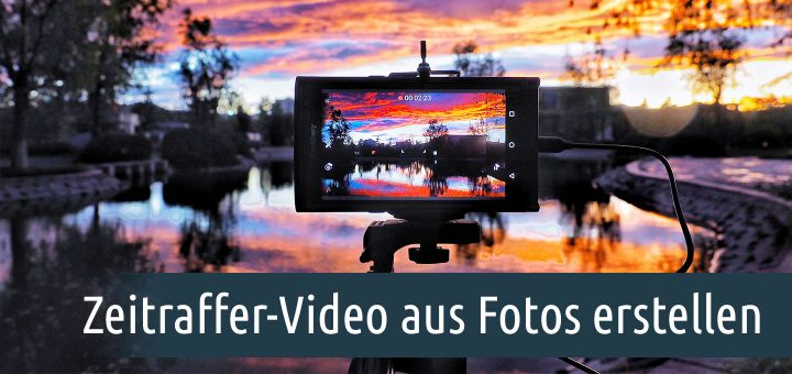 Zeitraffer-Video aus Fotos erstellen. Foto: Unsplash/Jimmy Chang