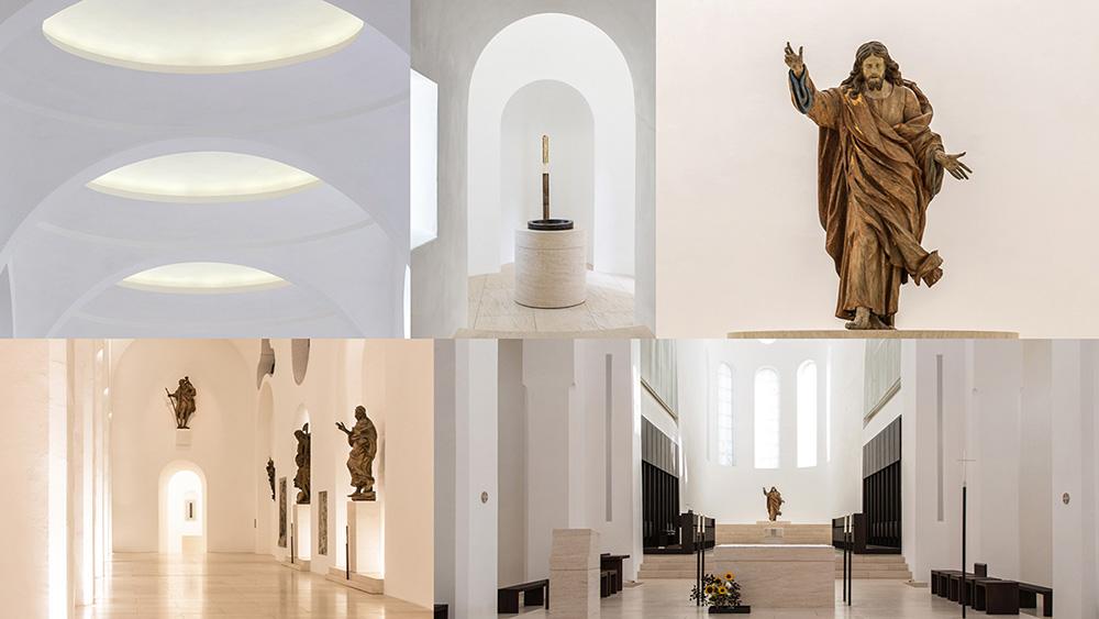Tipps für Reisefotos, hier Beispiel mit Moritzkirche Augsburg. Fotos: Franz Lechner