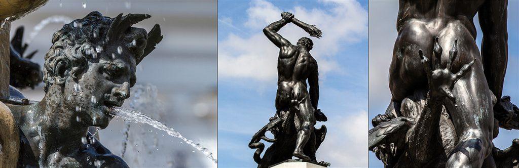 Tipps für Reisefotos: Herkulesbrunnen. Foto: Franz Lechner