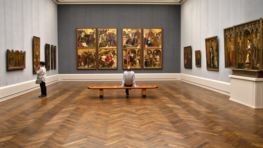 Urlaubs-DiaShow: Fotografieren im Museum. Foto: Franz Lechner