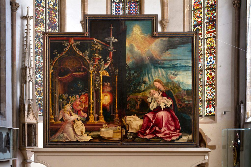 Urlaubs-DiaShow: Isenheimer Altar. Foto: Franz Lechner