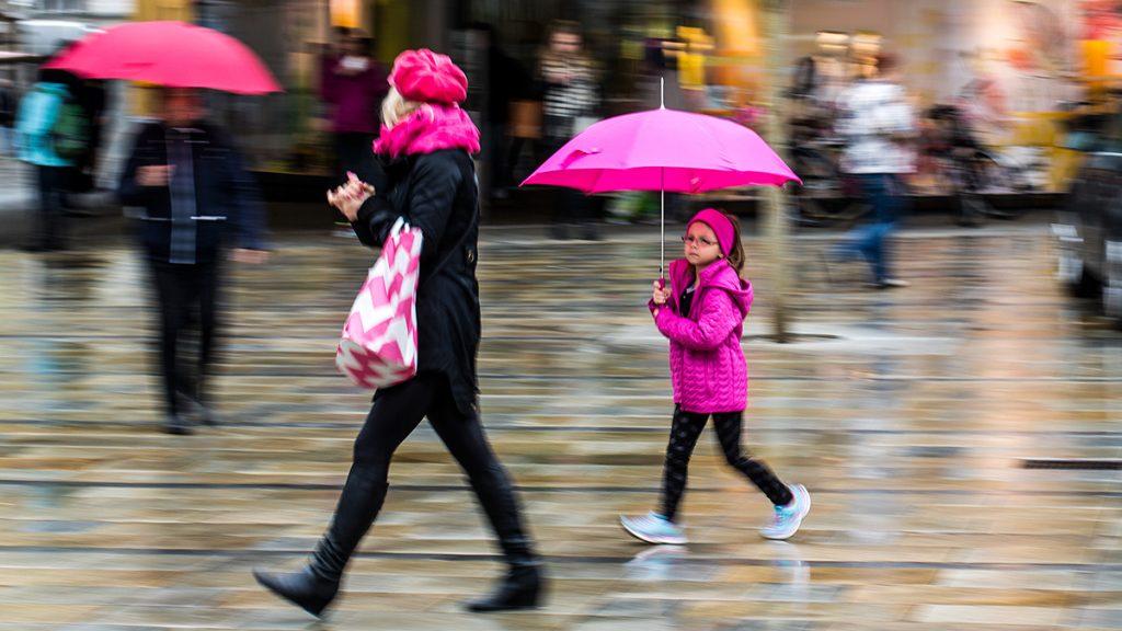 Fotos bei schlechtem Wetter: Regen. Foto: Franz Lechner
