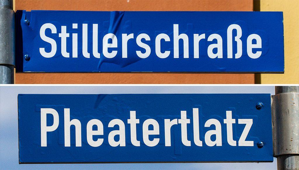 Urlaubs-DiaShow: Originelle Schilder. Foto: Franz Lechner