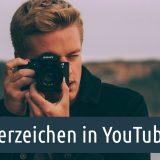 Wasserzeichen in YouTube-Videos
