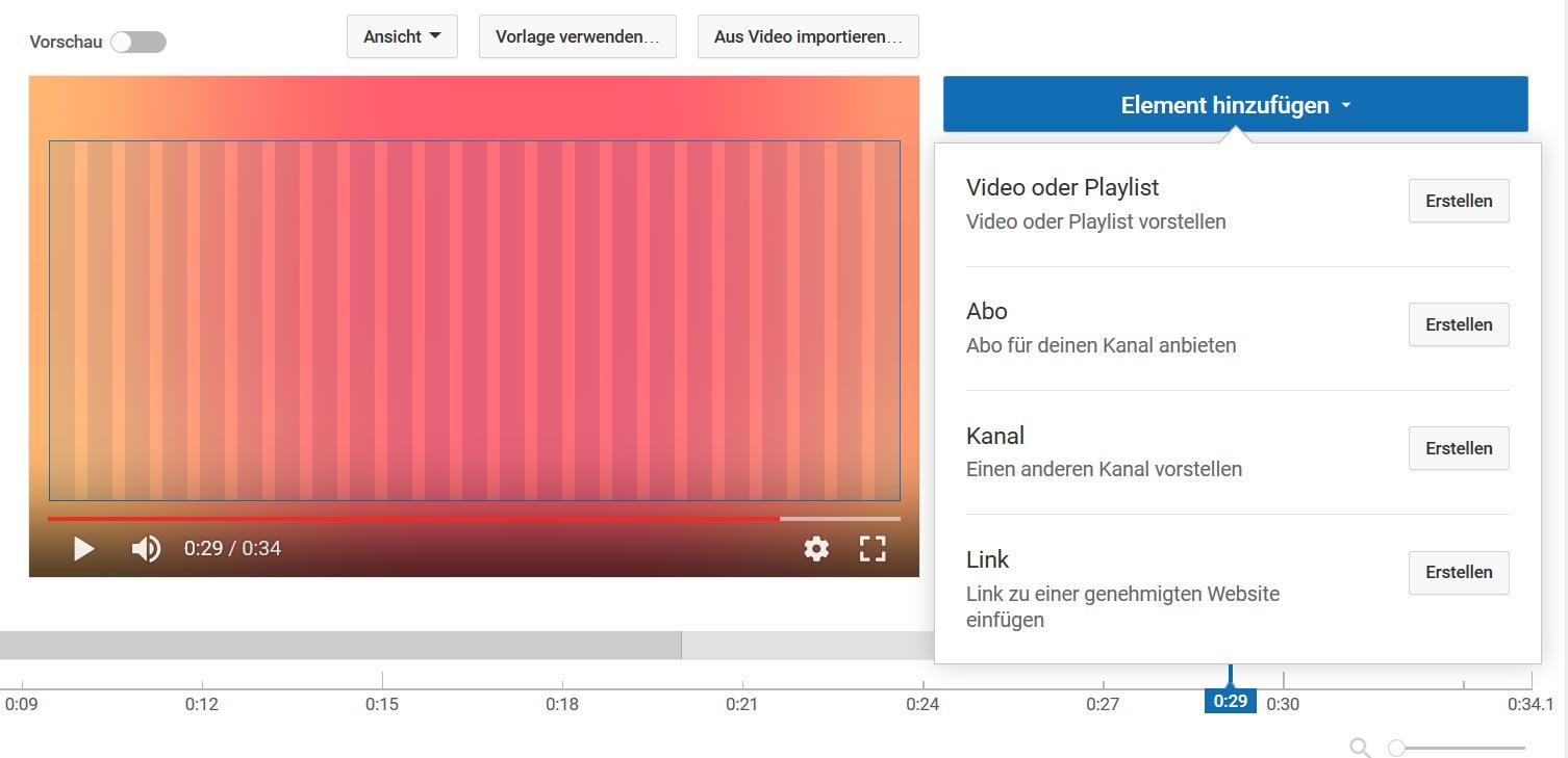 Endcard erstellen für YouTube - AquaSoft Hilfe