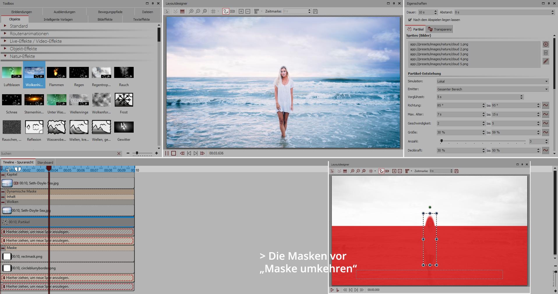 Natur-Effekte für lebendige Fotos - AquaSoft Hilfe