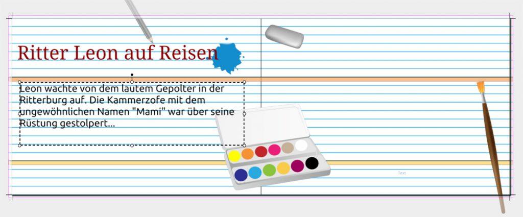 Fotobuch zur Einschulung erstellen: Gestalten mit Text