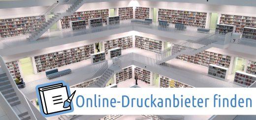 Online-Druckanbieter finden