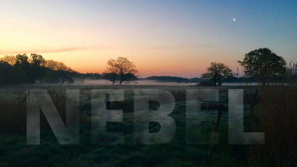 Nebel-Effekt animieren: Nebel in Schrift