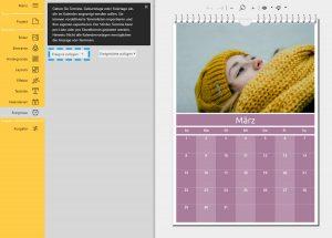 Fotokalender erstellen: Eigene Termine einfügen
