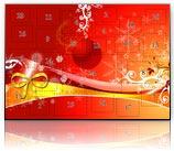 Adventskalender mit AquaSoft PhotoKalender 2 erstellt