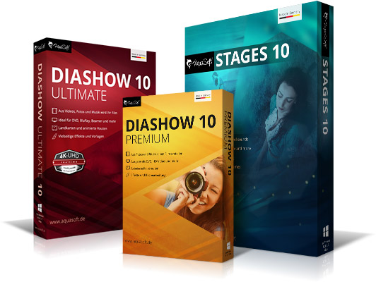 AquaSoft DiaShow und Stages 10